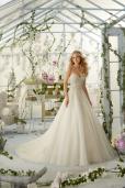 2824 Mori Lee, bruidsjurk, trouwjurk, bruidsmode