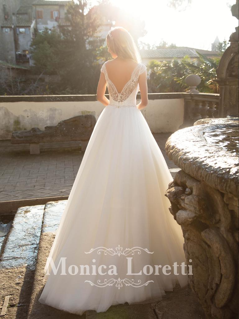 Nika-Monica-Loretti trouwjurk mariage