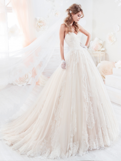 Nicole Spose 18317, trouwjurk, bruidsmode, collectie2017/2018