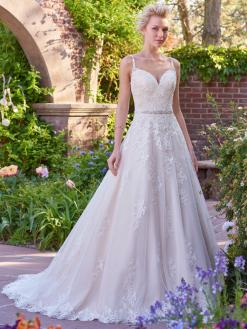 Allison-Maggie Sottero trouwjurk bruidsmode 2017 2018