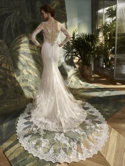 Kate, blue by enzoani, bruidsjurk, trouwjurk, bruidsmode
