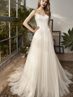 18-14 Beautiful by Enzoani, trouwjurk, bruidsjurk, bruidsmode, trouwen