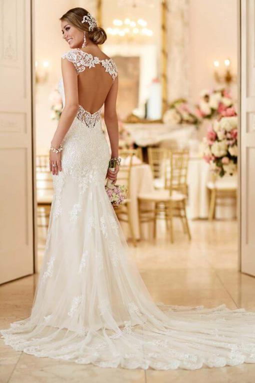 6245 Stella York, bruidsjurk, trouwjurk, bruidsmode