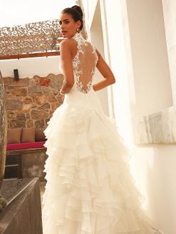 160-091-01, Linea Raffaelli, trouwjurk, bruidsjurk, bruidsmode