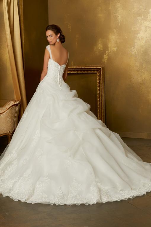 51341 Mori Lee, bruidsjurk, trouwjurk, bruidsmode