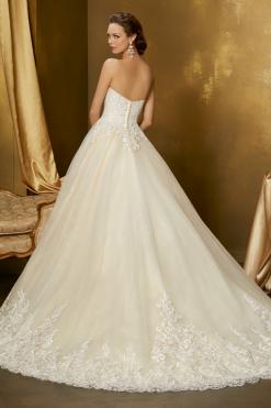 51345 Mori Lee, bruidsjurk, trouwjurk, bruidsmode