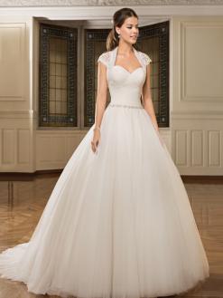 7914 Cosmobella, bruidsjurk, trouwjurk, bruidsmode