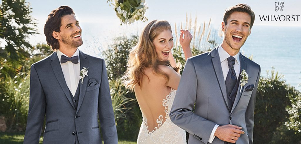 Wilvors, trouwkostuum, bruidegom, bruidegomkostuum, trouwpak