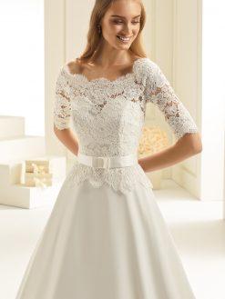 Aspen, Bianco Evento, Bianco Bridal, trouwjurk, bruidsjurk, bruidsmode