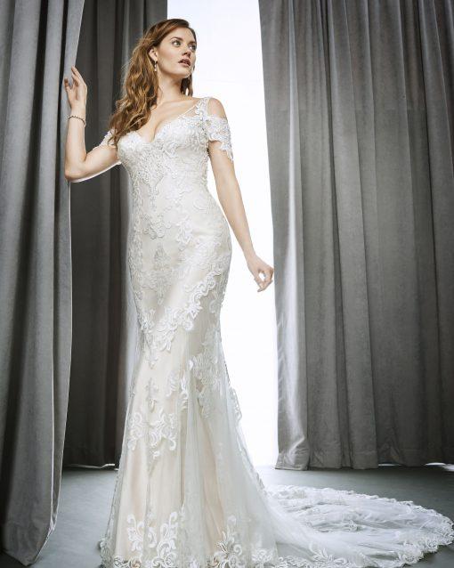 Kenneth-Winston, trouwjurk, bruidsjurk, bruidsmode