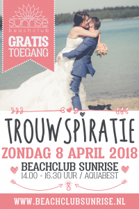 beachclub sunrise, wedding evet, weddingbeurs, trouwbeurs,