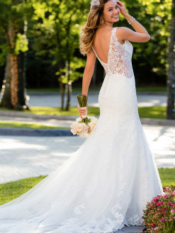 6571 Stella York, trouwjurk, bruidsjurk, bruidsmode