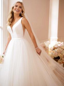 6581 Stella York, trouwjurk, bruidsjurk, bruidsmode