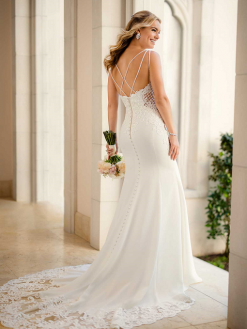 6586 Stella York, trouwjurk, bruidsjurk, bruidsmode