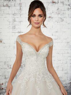 Morilee 51422 trouwjurk, bruidsjurk, trouwen, verloofd, bruidsmode, trouwzaak, bruidszaak, trouwjurken 2019