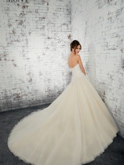 Morilee 51446 trouwjurk, bruidsjurk, trouwen, verloofd, bruidsmode, trouwzaak, bruidszaak, trouwjurken 2019