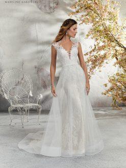 Morilee 5689 trouwjurk, bruidsjurk, trouwen, verloofd, bruidsmode, trouwzaak, bruidszaak, trouwjurken 2019