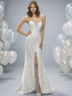 Oleiro White One, trouwjurk, bruidsjurk, trouwen, verloofd, bruidszaak, mariage bruidsmode;