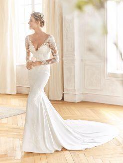 Baile La Sposa, trouwjurk, bruidsjurk, trouwen, verloofd, bruidszaak, mariage bruidsmode;