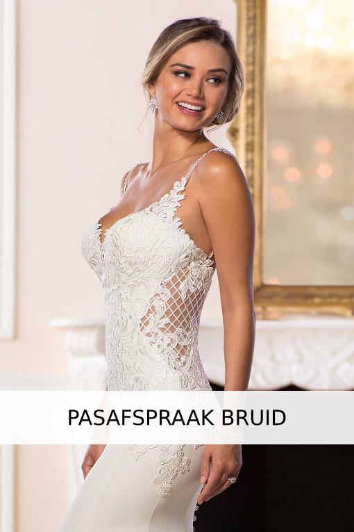 pasafspraak bruid, bruidsjurk, trouwjurk, trouwen
