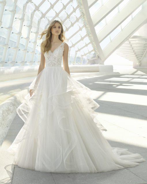 Diamond, Rosa Clara, trouwjurk, bruidsjurk, trouwen, verloofd, bruidszaak, mariage bruidsmode;