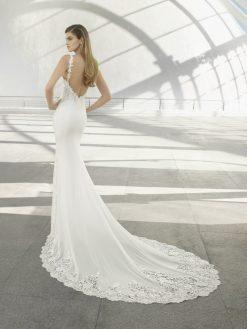 Dakota, Rosa Clara, trouwjurk, bruidsjurk, trouwen, verloofd, bruidszaak, mariage bruidsmode;