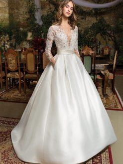 7950, Cosmobella, trouwjurk, bruidsjurk, trouwen, verloofd, bruidszaak, mariage bruidsmode;