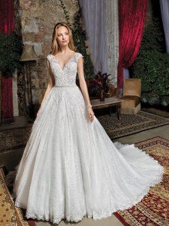 7961, Cosmobella, trouwjurk, bruidsjurk, trouwen, verloofd, bruidszaak, mariage bruidsmode;