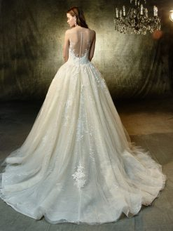 Langley,Blue by Enzoani, trouwjurk, bruidsjurk, trouwen, verloofd, bruidszaak, mariage bruidsmode;
