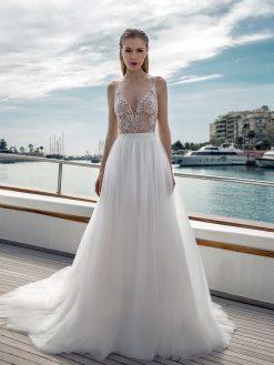 D280T-DR266S, Destination Romance, trouwjurk, bruidsjurk, trouwen, verloofd, bruidszaak, mariage bruidsmode;