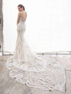 Nanette, Blue by Enzoani, trouwjurk, bruidsjurk, trouwen, verloofd, bruidszaak, mariage bruidsmode;