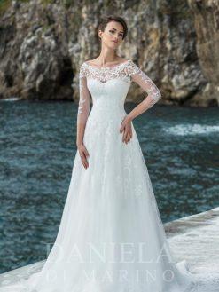 Agata, Daniela di Marino, trouwjurk, bruidsjurk, trouwen, verloofd, bruidszaak, mariage bruidsmode;