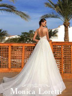 Rose, Monica Loretti, trouwjurk, bruidsjurk, trouwen, verloofd, bruidszaak, mariage bruidsmode;