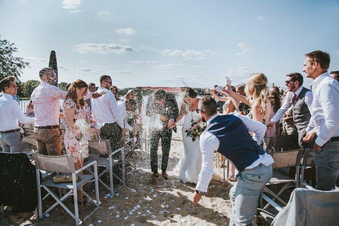 Wedding Inspiratie: Relaxte Strandbruiloft!
